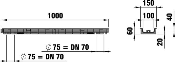ابعاد گاتر 41224