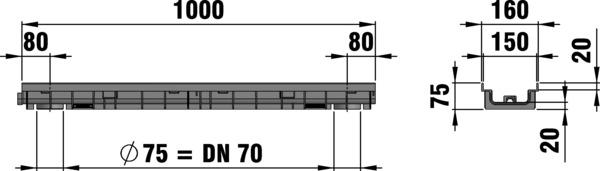 Composite Grating dimensions
