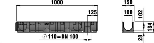 metal grating dimensions